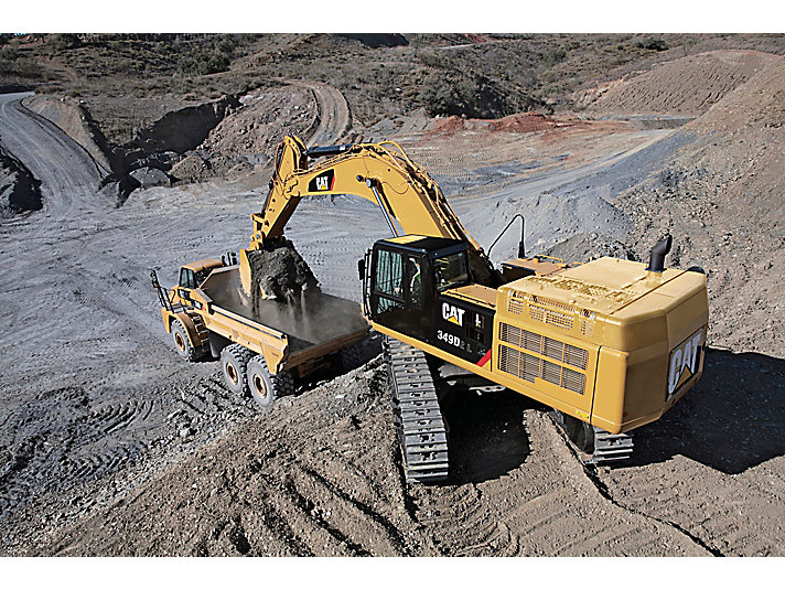 Escavadeira Hidráulica Grande 349D2 L