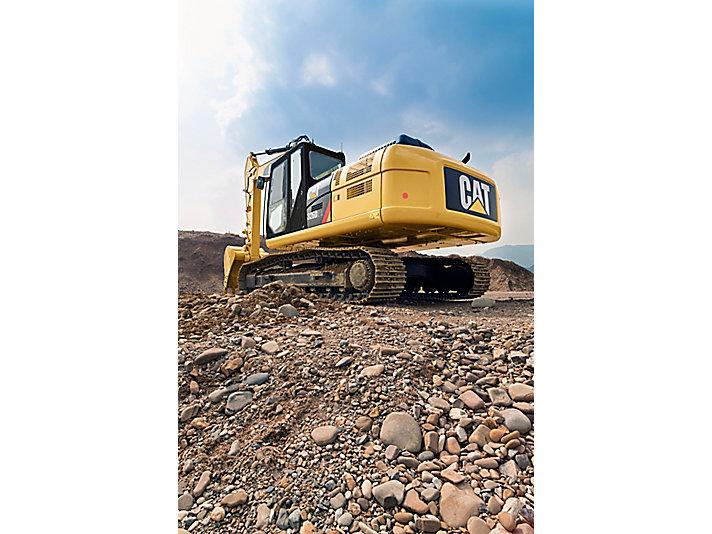 326D2 L Medium Hydraulic Excavator