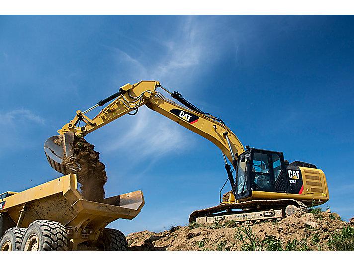 Excavadora Hidráulica Mediana 326F L