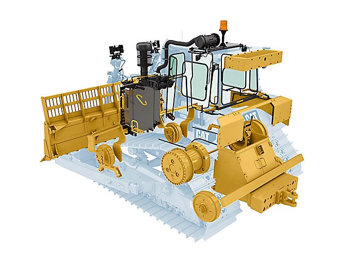 Maszyna D6T do pracy na wysypiskach
