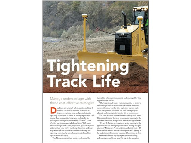 Tightening Track Life