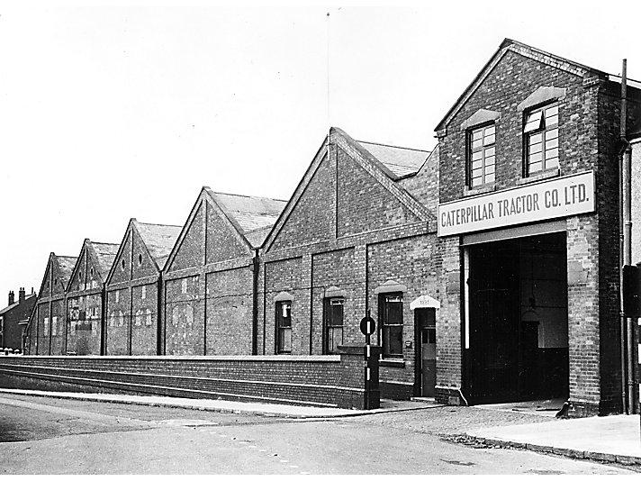 Caterpillar Coalville plant, 1951