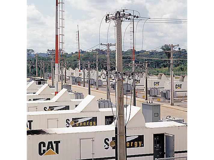 Cat equipment works to relieve Brazilian power shortages, 2001