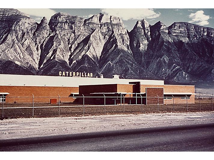 Caterpillar Monterrey, Mexico plant, ca. 1963.
