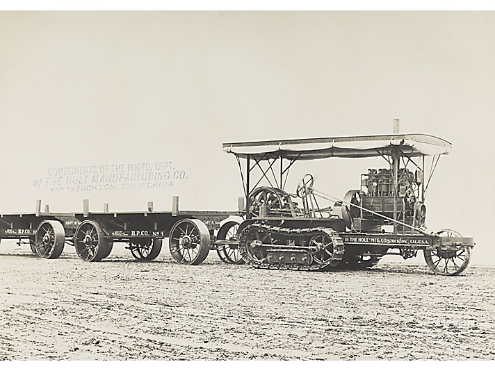 First Holt Caterpillar tractor sold in Mexico, 1909.