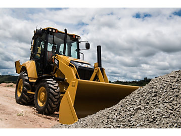 Cat® F2 Series Backhoe Loaders: Greater Comfort. Bigger Profits.