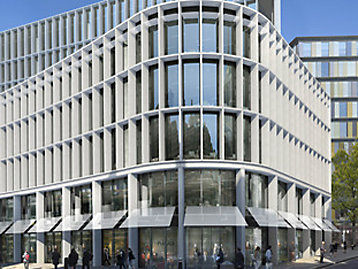 New Ludgate 1 and 2', an office-led mixed-use development mock up