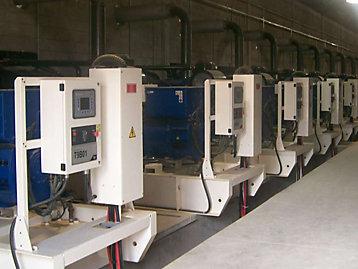 FG Wilson Generator plant room photograph