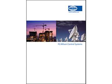 FG Wilson Control Systems Brochure Cover