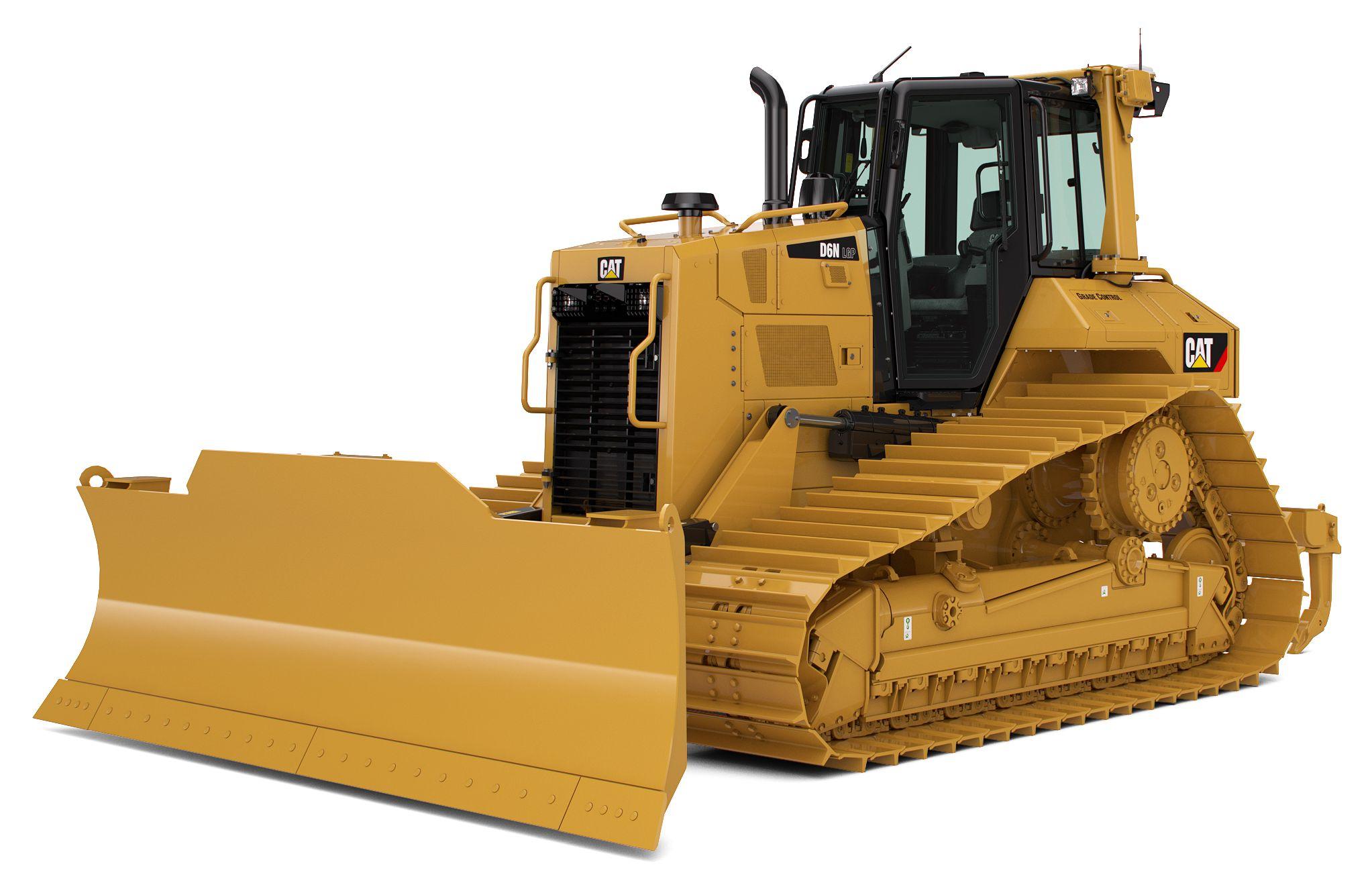 Tracteur sur chaines Cat D6N