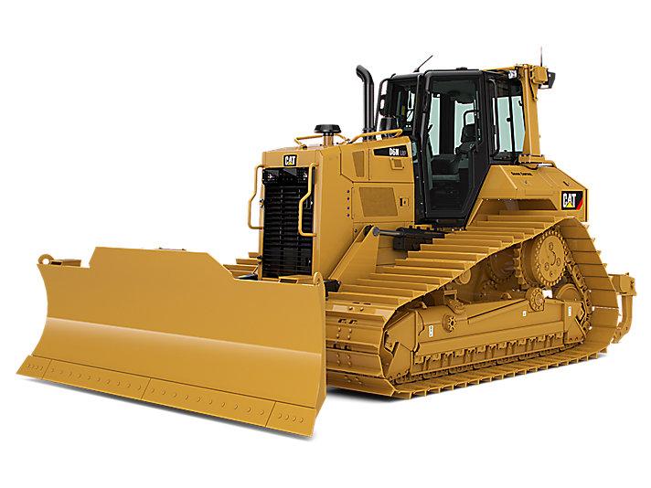D6N middelgrote bulldozer