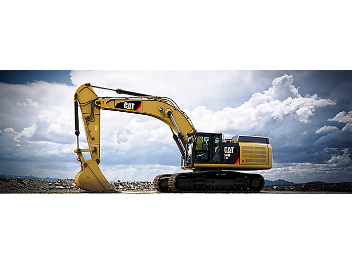 349F L XE Large Hydraulic Excavator