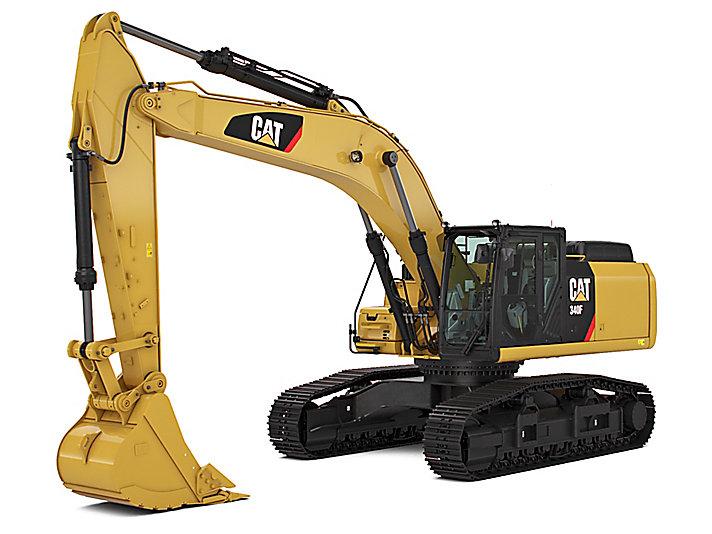 Excavadora Hidráulica Grande 340F L