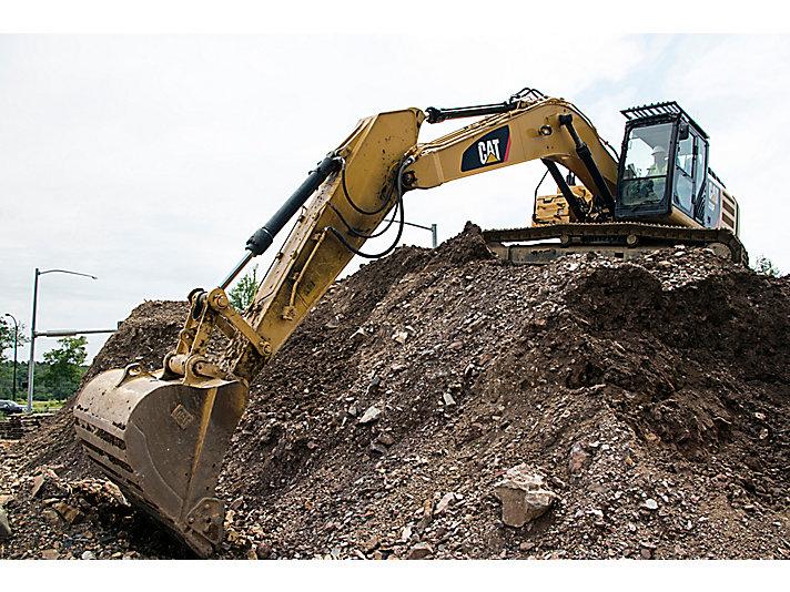 330F L/LN Medium Hydraulic Excavator
