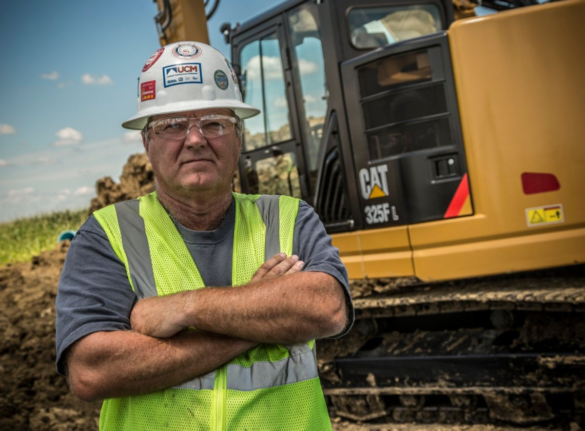"""To have a machine like this with just the right power and size means we can take it to more places and use it more often,"" says UCM operator David Smith."