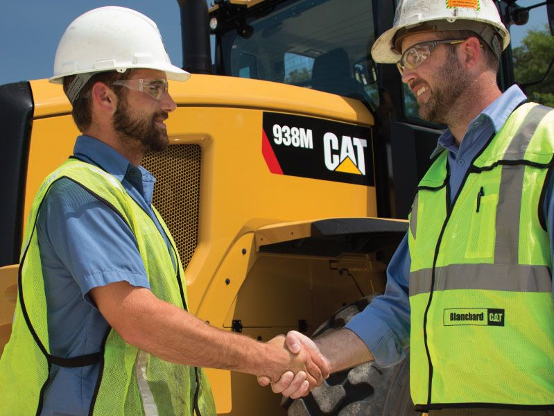 CAT® DEALERS MAKE THE DIFFERENCE