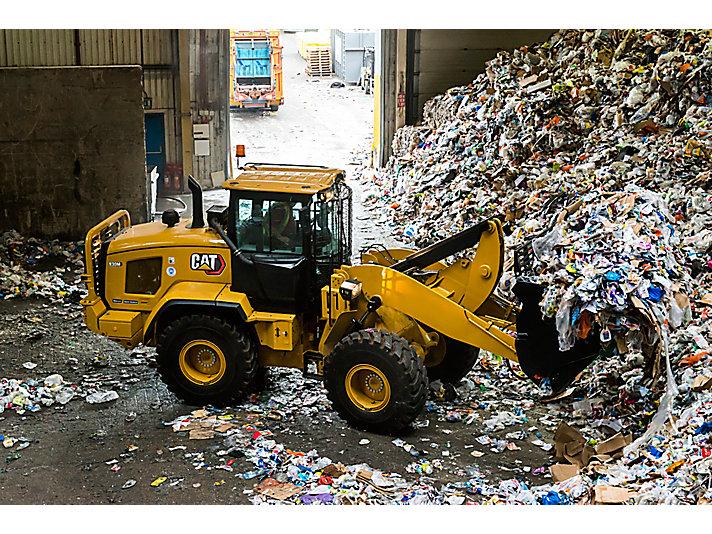 Chargeuse pour le traitement des déchets 930M