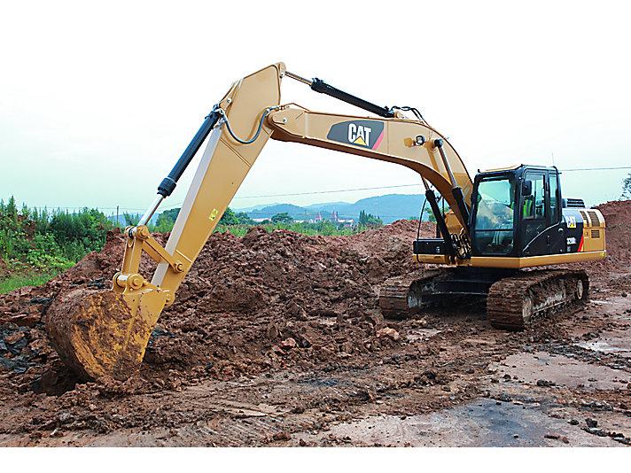 320D2 L Medium Hydraulic Excavator