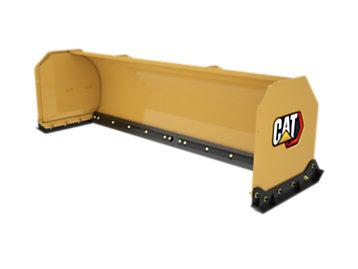 Foto del Plancha de empuje quitanieves recta de 3,2m (10pies) con cuchilla retráctil de caucho