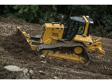 適用於推土機之內建 3D 的 Cat GRADE