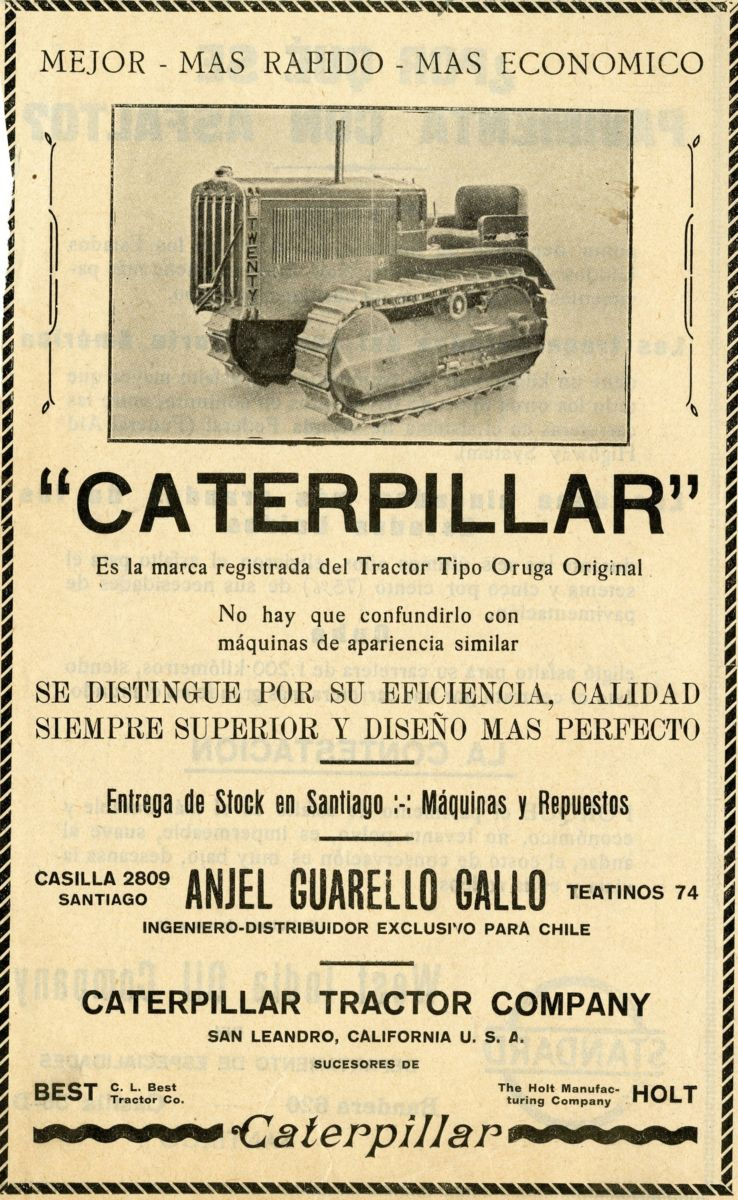 Media 1958 Caterpillar D8 Series H Crawler Tractor Australian Sales Brochure With The Best Service