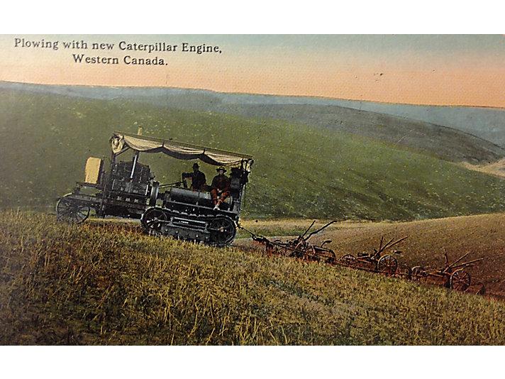 Holt Caterpillar postcard, ca. 1910.