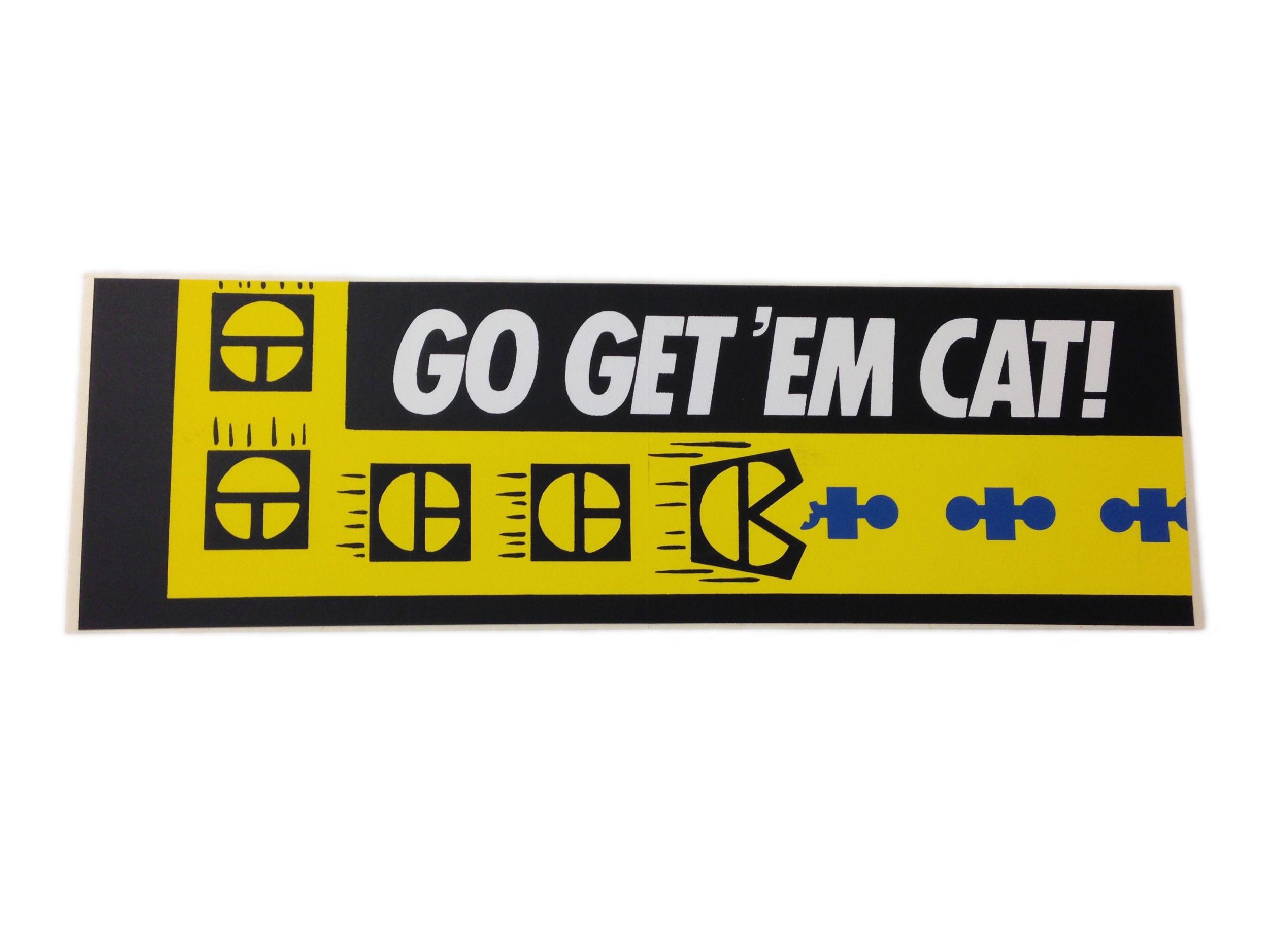 Go Get 'Em Cat