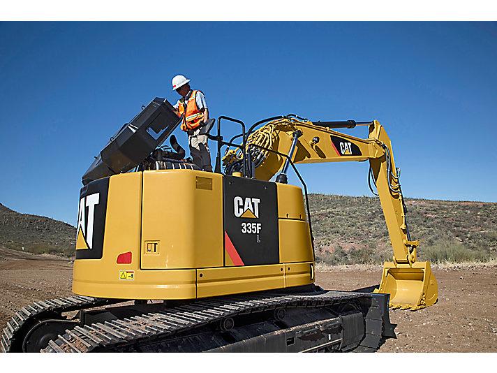 Excavadora Hidráulica Mediana 335F L