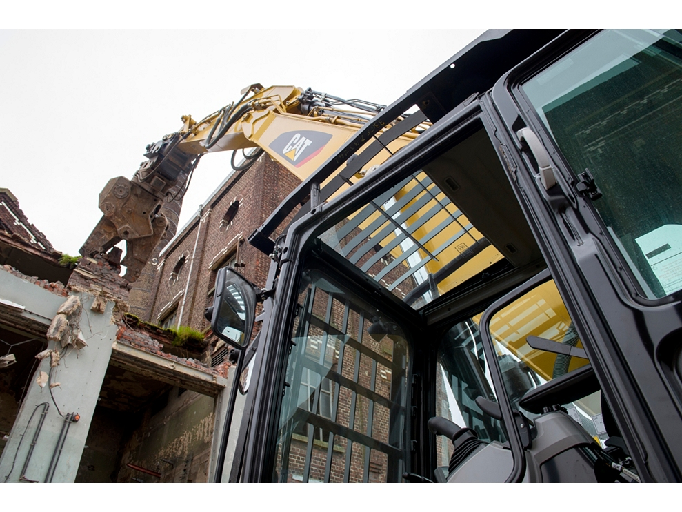 new 336f l hydraulic excavator with straight boom for sale whayne cat. Black Bedroom Furniture Sets. Home Design Ideas