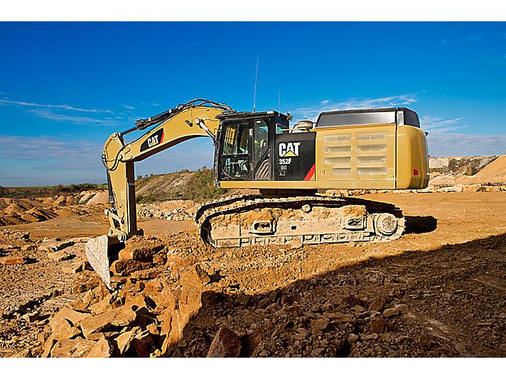 Escavatore idraulico grande 352F L