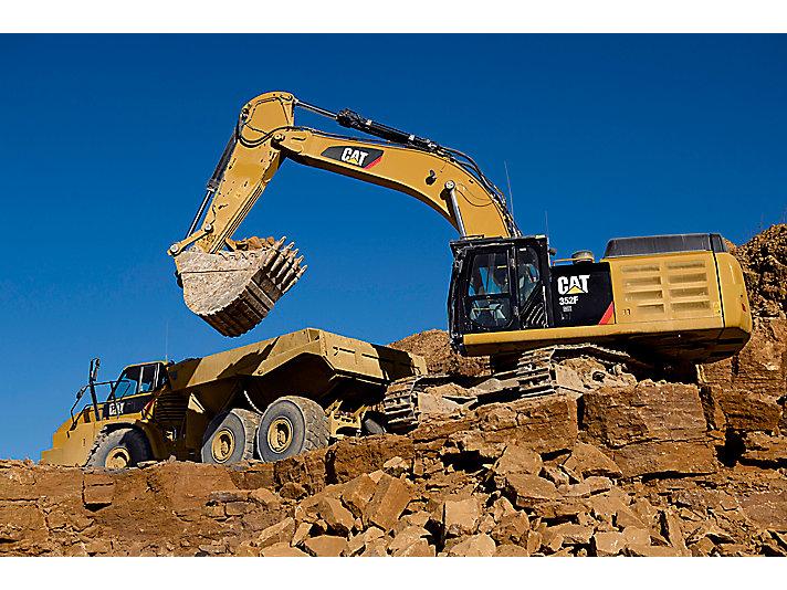 Excavadora Hidráulica Grande 352F L