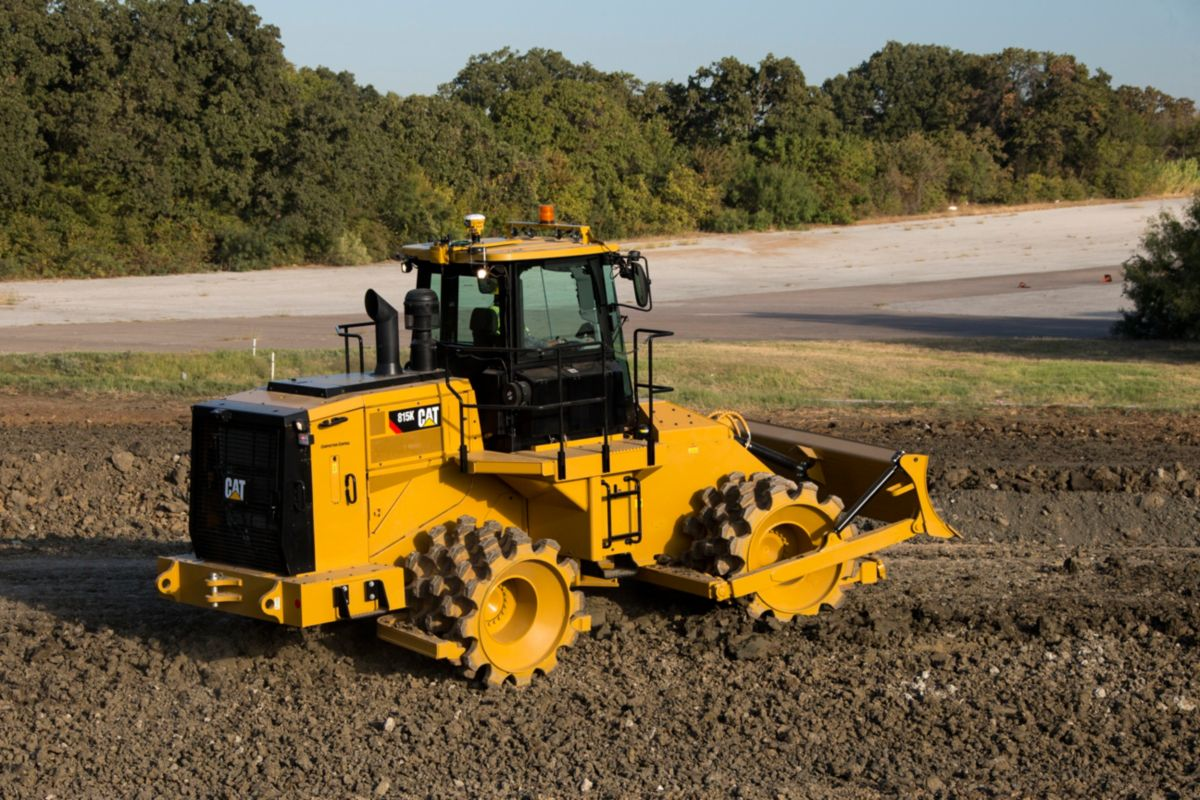 New 815k soil compactor compactors machines for 98 soil compaction