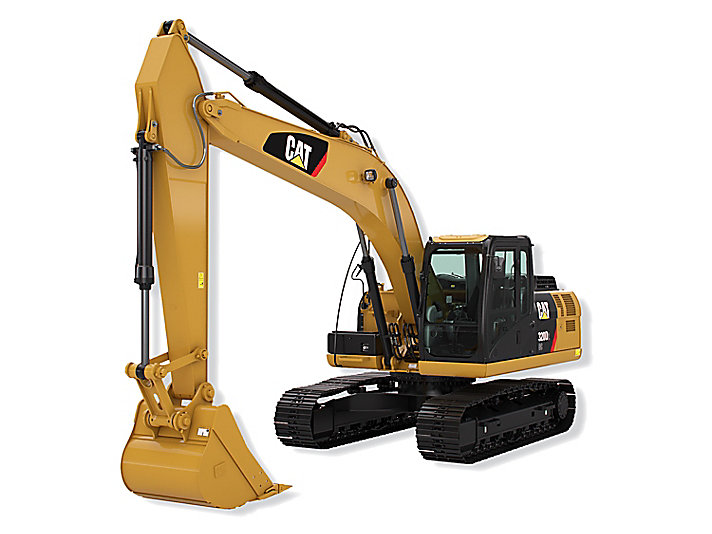320D2 中型液压挖掘机