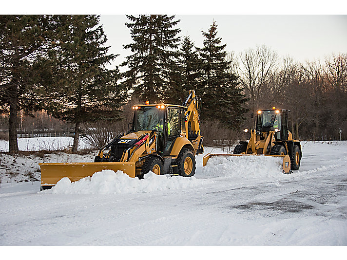 Cat® Snow Removal Tools Working Together to Tackle the Elements