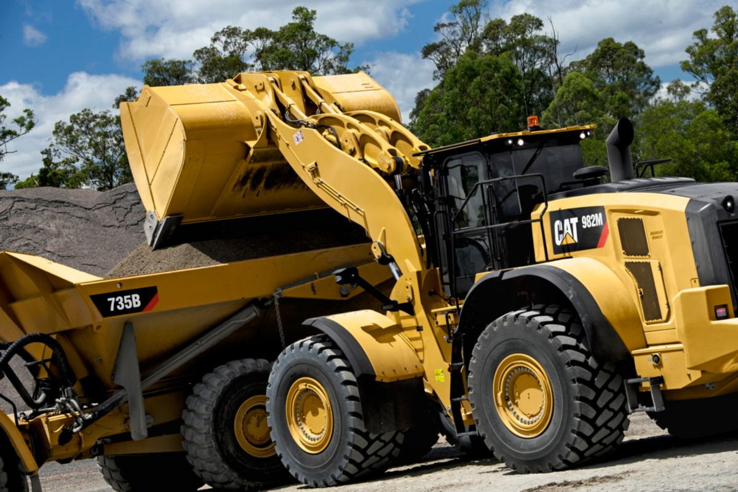 Cat 982M MWL