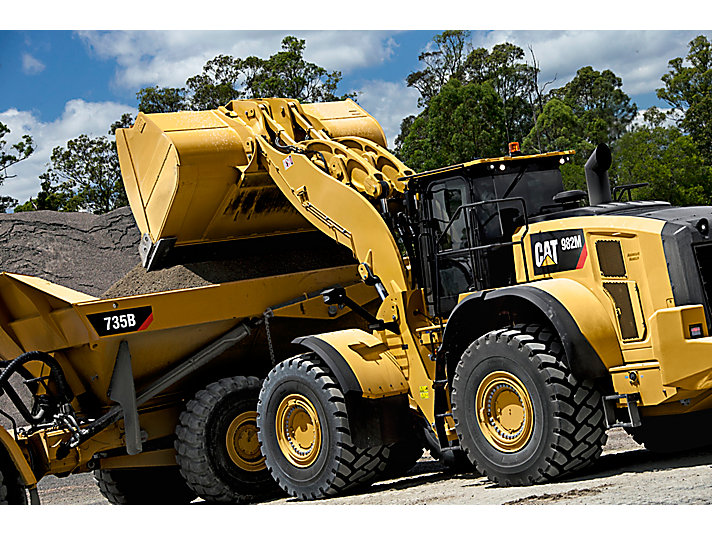 982M Medium Wheel Loader productivity