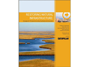 Sustainability white paper on Restoring Natural Infrastructure