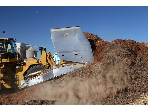 834K Scoops for Coal & Woodchips - Wheel Dozers