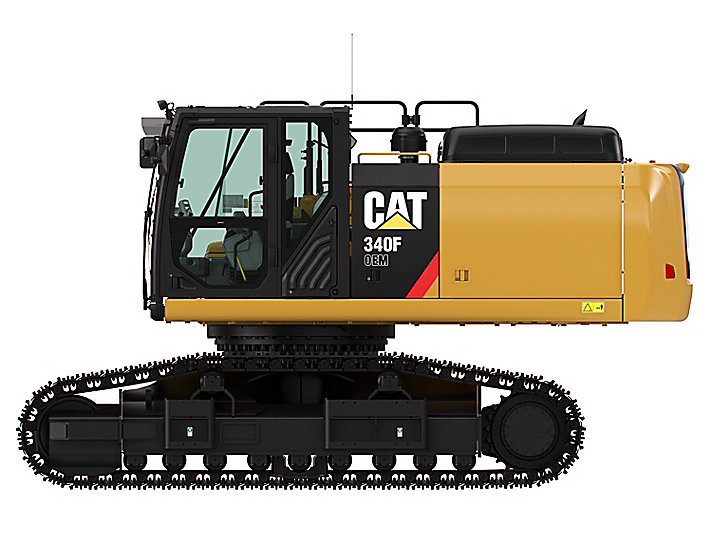340F Frontless Excavator