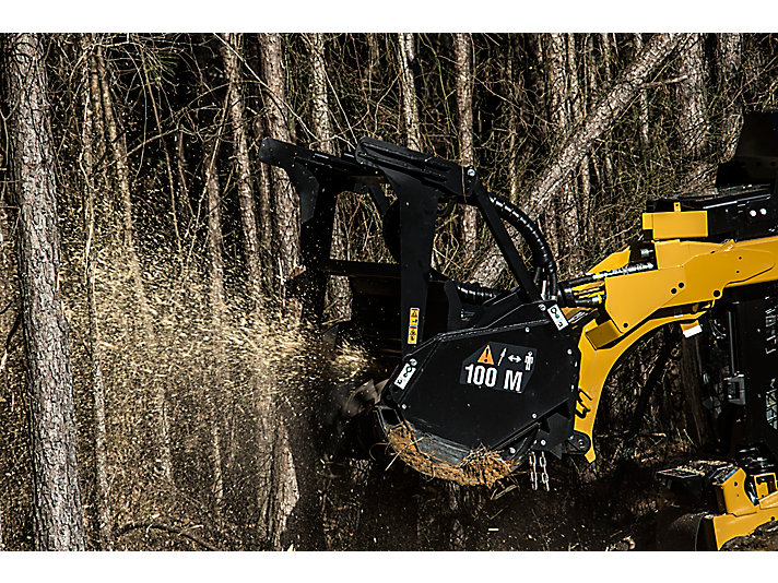 Cat® Mulcher in Action