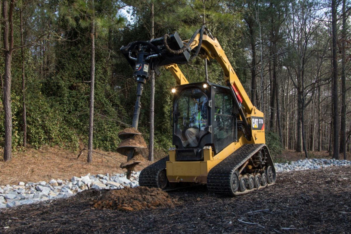Cat A26b Auger Caterpillar Wiring Diagram Mini Excavator Augers Are Used To Drill Holes For Footings Fencing Sign Posts Trees And Shrubs In Construction Agricultural Landscaping Applications