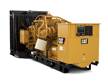 G3512 Natural Gas Generator Set for Continuous Applications