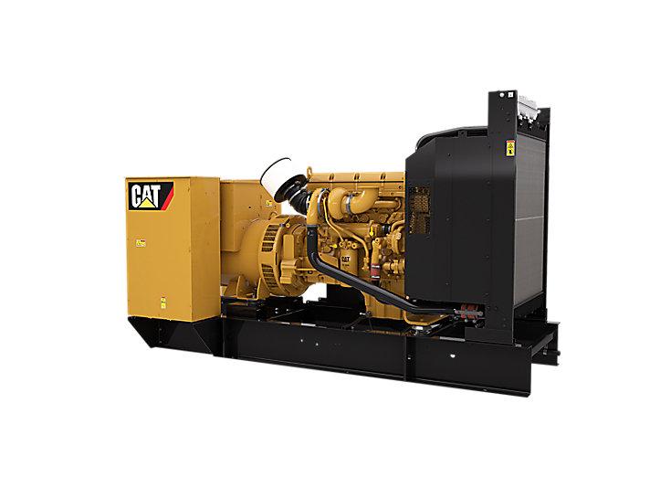 C13 NACD dieselgeneratoraggregat, höger fram