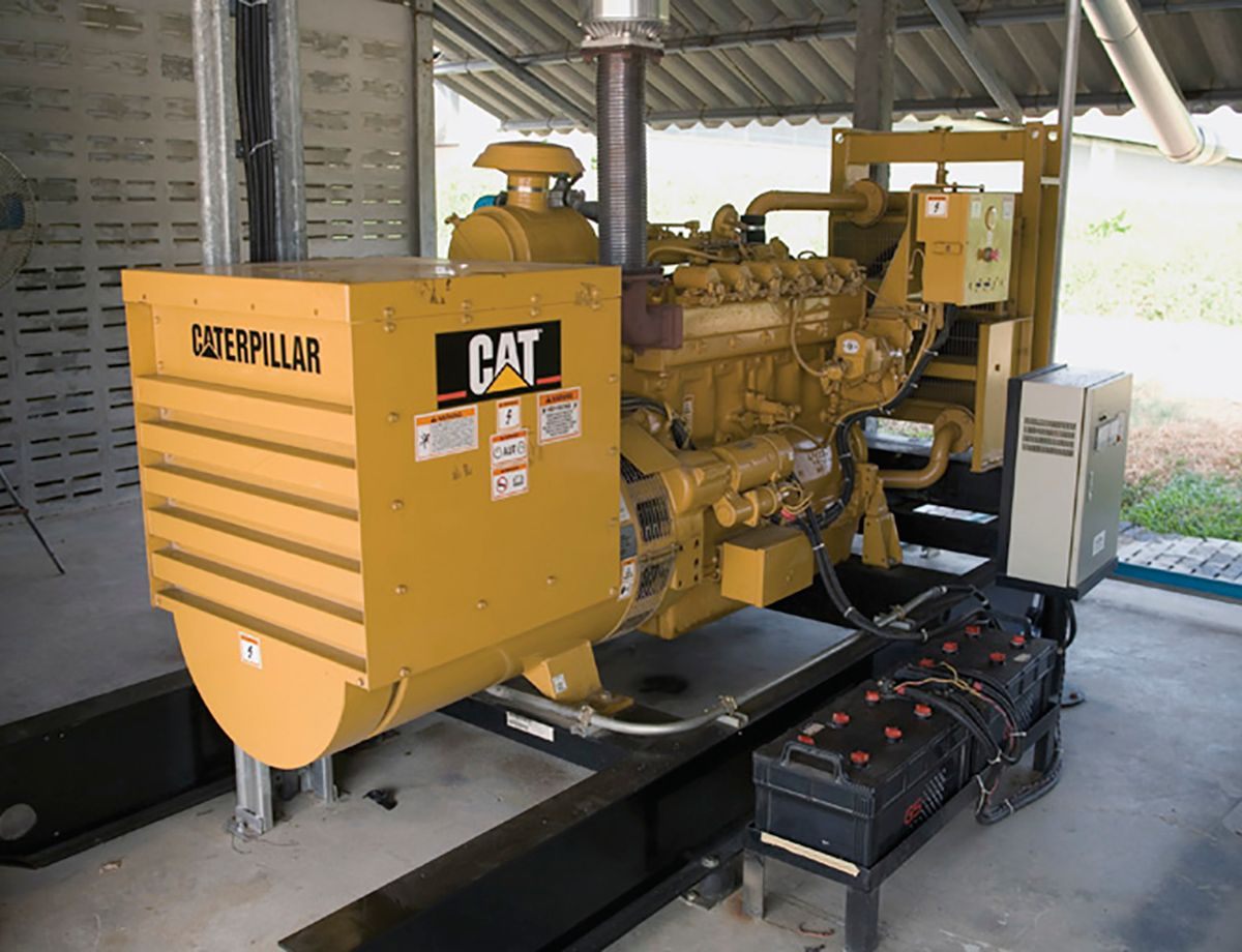 The installation of the Caterpillar electric power system had two goals: to reduce the costs of electricity and to use the existing biogas sources at the Nong Rai farm.