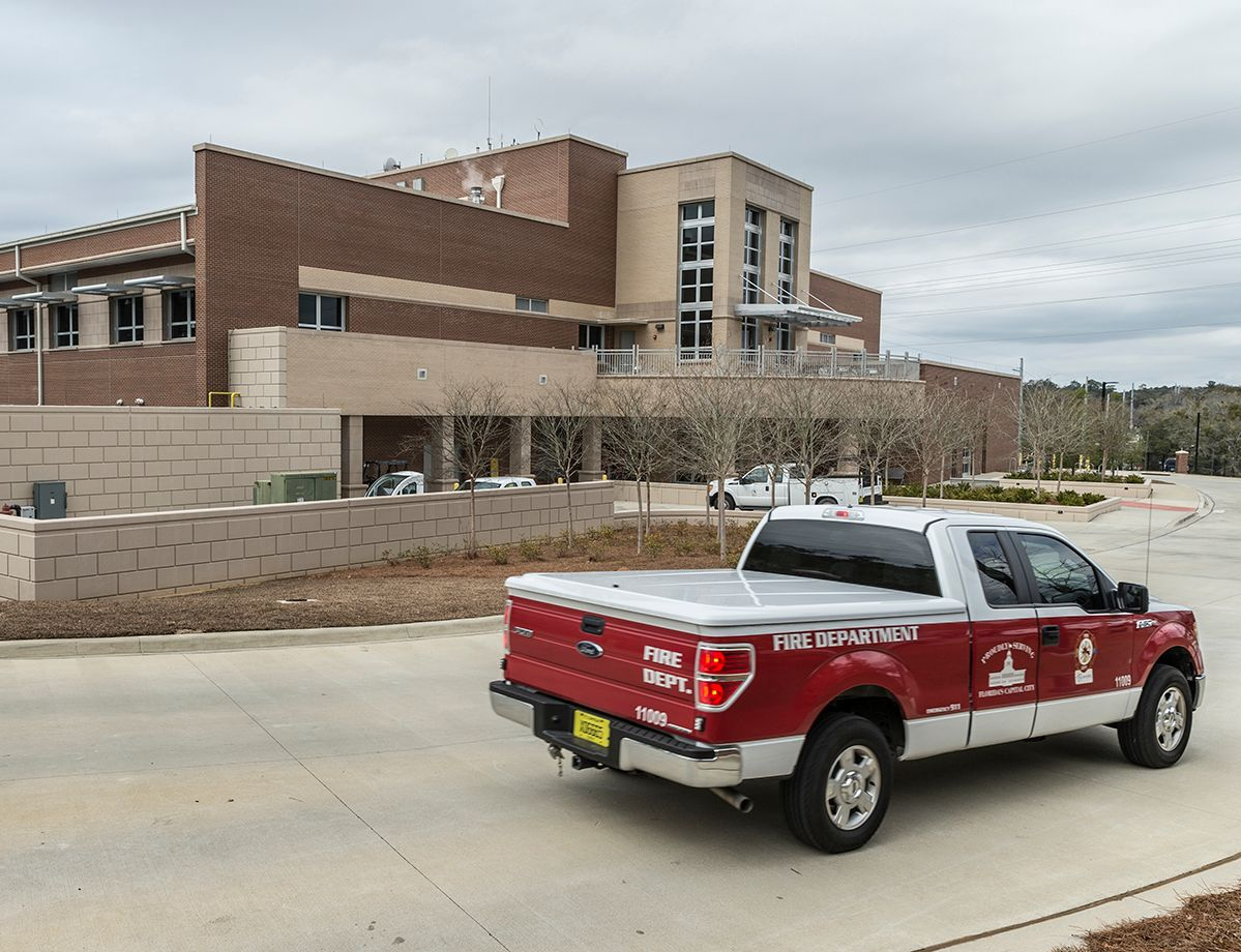 The integrated complex provides a more coordinated emergency response effort from 150 employees, who receive nearly 500 emergency calls each day.