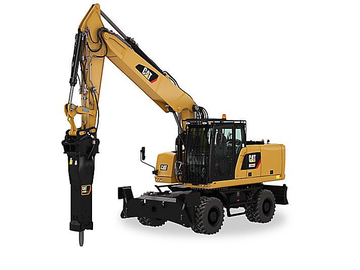 Cat | M322F Wheeled Excavator | Caterpillar