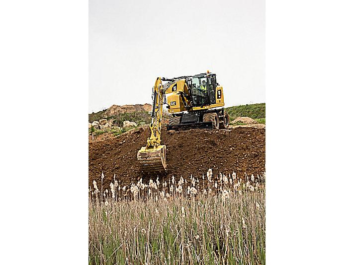 Excavadora de Ruedas M317F
