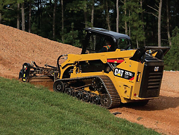Caterpillar operating technique