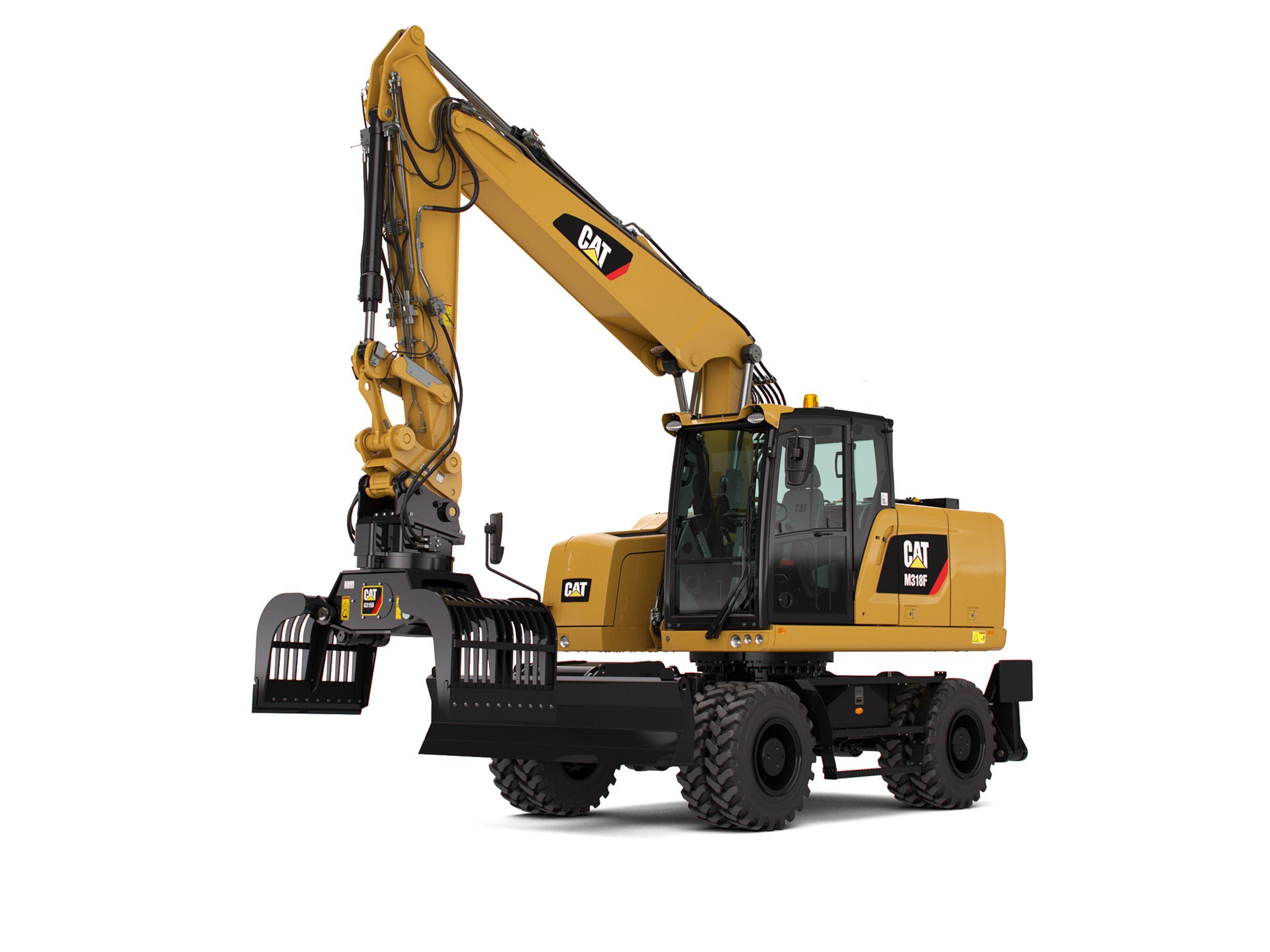 M318F Wheeled Excavator