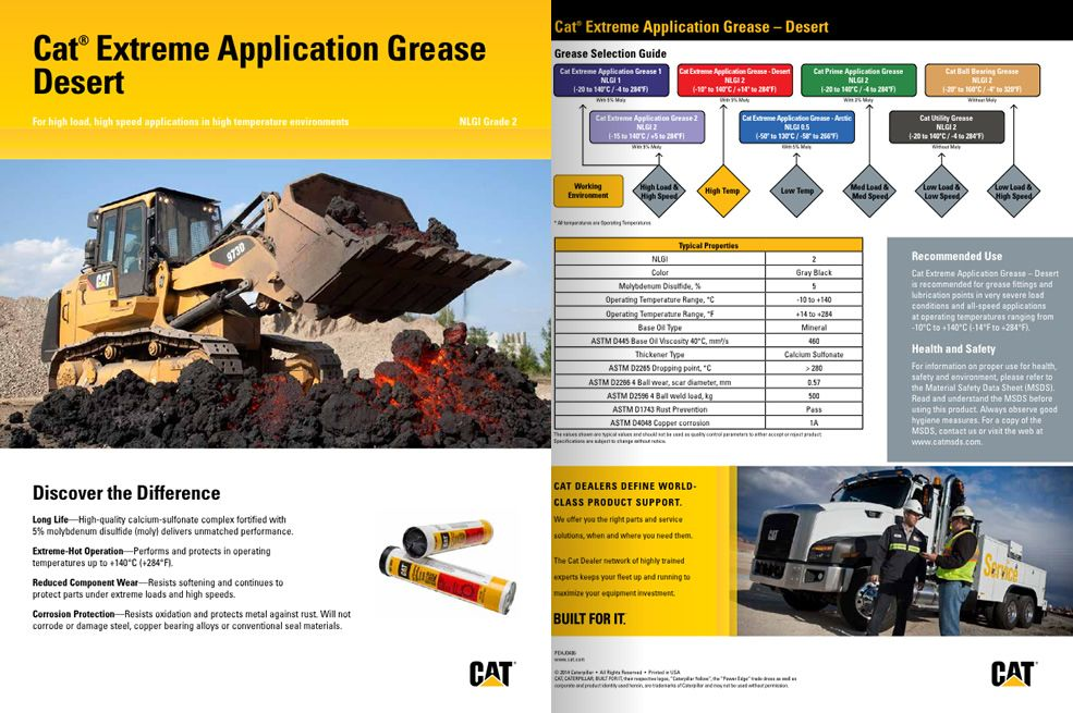 Extreme application grease (Desert)